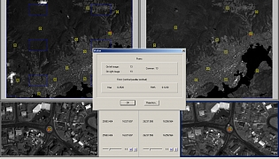 Testing data from the GeoEye-1 satellite